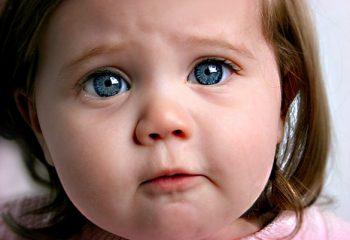Renkli Gözlü Bebek ve Çocuk Resimleri