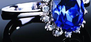 Yeni Sezon Şık Mavi Taşlı Yüzük Modelleri