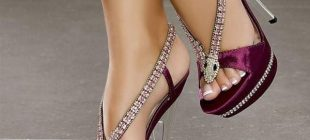 Modern Taşlı Abiye Ayakkabı Modelleri