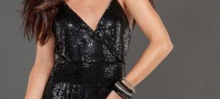 Modern Siyah Abiye Elbise Modelleri