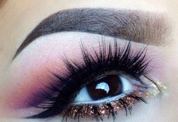 Muhteşem Simli Göz Makyaj Fikirleri