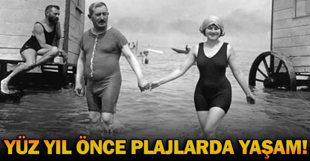 Yüz yıl önce plaj modası