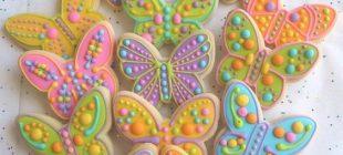 Şeker Hamurundan Hazırlanmış Çok Güzel Butik Kurabiyeler