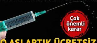 Her yıl milyonlarca kişinin ölümüne sebep olan hastalığın aşısı ücretsiz yapılacak!