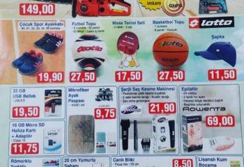 BİM 30 Eylül 2016 İndirimli Aktüel Ürünler Katalogu
