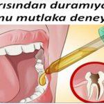 Diş ağrısından duramıyorsanız bunu mutlaka deneyin