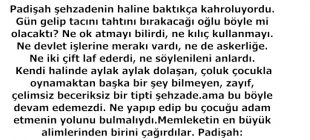 BİR OK ATTIM