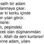 İyilik kendisine iyilik yapılan tarafından zayi edilirse de, Allah katında zayi olmaz
