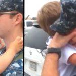 Askerden Dönen Baba Oğluna Kavuşunca Ağlamaya Başladı – Eşi Gerçeği Açıklayınca Şok Oldu