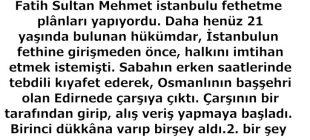 Fatih İstanbul'u Alacağından Neden Bu Kadar Emindi?