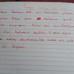 Öğretmeni İlkokul öğrencisinden damlaya damlaya göl olur kompozisyonunu yazmasını istedi öğrenci bakın ne yazdı
