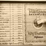 1941 Yıllarda Faaliyet Gösteren Köy Enstitülerinde Bakın Hangi Dersler Veriliyormuş