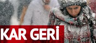 Son Dakika : Meteoroloji Uyardı Şiddetli Kar Geliyor