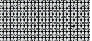 Bu kadar emoji içinde pandayı 10 saniye içinde görebildiyseniz görsel zekanızla övünebilirsiniz