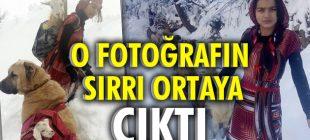 Rize'de çekilen fotoğrafın sırrı ortaya çıktı