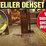 Tramvay Durağında Suriyeli iki genç  Tartıştıkları 2 Kişiyi Bıçakladı