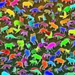 Resimdeki Zürafayı 10 Saniye İçinde Görebildiyseniz Görsel Zekanızla Gurur Duyabilirsiniz