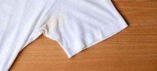 İşte giysilerinizdeki ter lekesini çıkarmanın basit yolu!