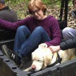 Günler Sonra Bulunduğunda Ailesine Tarifsiz Mutluluk Yaşatan Kör Köpek Sage