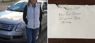 Baba Kızının Aracının Torpido Gözünde Mektup Buldu – Okuyunca Gözyaşlarını Tutamadı