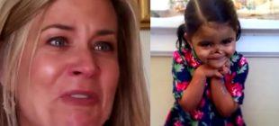 Köpekler Tarafından Burnu Koparılan Kızı Evlat Edindi – Bir Gün Eve Geldiğinde Şok Oldu