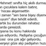 Osmanlıda Öğretmene Böyle Değer Verilir Çocuk da Böyle Yetiştirilirdi