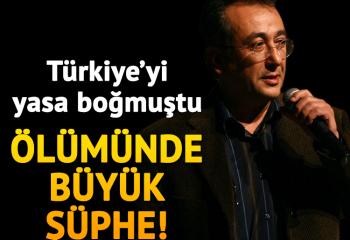 FLAŞ! Tayfun Talipoğlu'nun ani ölümünde büyük şüphe