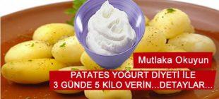 3 Günde Patates Diyeti İle 5 Kilo Verin