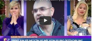 Ajdar taviz vermiyor: 2 saatlik yayın için 300 bin Euro istiyorum – Video