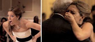 Düğününden Hemen Önce Babasını Kaybetti – Bakın Düğünde Geline Nasıl Bir Sürpriz Yaptılar