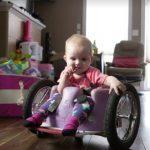 Parası Yetmeyince Kanser Ve Felçli Kızına Kendisi Tekerlekli Sandalye Yaptı