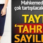 Tayt 'tahrik' sayıldı!