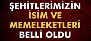 Yüreğimize ateş düştü! Şırnak'ta şehit düşen askerlerimizin isim ve memleketleri belli oldu!