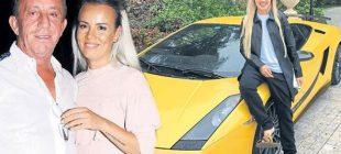Ali Ağaoğlu'nun sevgilisi işe Lamborghini ile gidip geliyor.