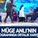 Müge Anlı'nın programında ortalık karıştı! Canlı yayında birbirlerini tokatladılar!