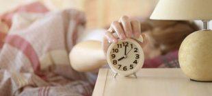 Alarmı kapattıktan uyumanın zararları