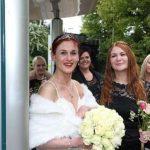 Düğün Törenini Gerçekleştirmek İçin Oldukça İlginç Bir Yer Seçen Gelin ve Damat