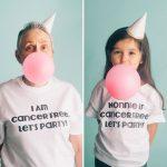 Kanser Hastası Büyükannesine Moral Vermek İçin Güçlü Kadınları Taklit Eden Küçük Kız