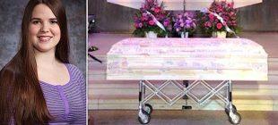Genç Kız Kanserden Hayatını Kaybetti – Tabutunu Gören Annesi Gözlerine İnanamadı