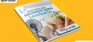Carrefour 3-30 Haziran 2017 Kampanya Broşürü: Sıcak Havalara Serin Çözümler!