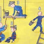 Bu resimdeki en sersem kişi sizce hangisi?  1'den dörde kadar numaralandırılan çizimlerden size göre en tehlikeli durumda olanı seçin, kişiliğiniz ortaya çıksın