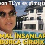 """18 Milyonluk Villa Alan Demet Akalın: """"Normal aileler gibi borca girdik."""" dedi. İşte 18 Milyonluk O Muazzam Villa"""