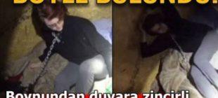 Görüntüler ortaya çıktı! Konteynerde 2 ay boyunca tecavüz … Genç kadın boynundan duvara zincirlenmiş halde işte böyle bulundu