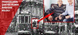 60 yıl önce Fransızların çektiği İstanbul filminde babasını buldu
