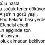 Hz. Bilal Son Ezan