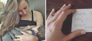 Restoranda Kızını Emzirmeye Başladı – Kendisine Yazılan Bir Not Anneyi Ağlattı