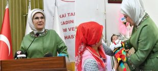 """Emine Erdoğan: """"Sezaryen oranını indirmek için seferberlik başlatmalıyız"""""""
