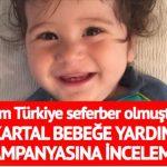 Son dakika… Kartal bebeğe yardım kampanyasına inceleme başlatıldı