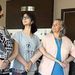 Mide küçültme ameliyatı olan Burçin Orhon'a kızlarından destek