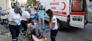 77 yaşındaki bekçiyi öldüresiye dövüp gasp ettiler!